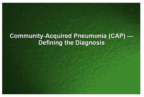 CAP - Defining the Diagnosis