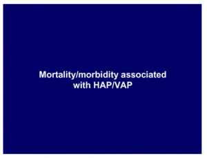 Mortality morbidity associated with HAPVAP